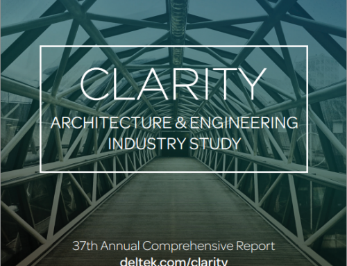 The 37th Annual Deltek Clarity A&E Survey is Now Open
