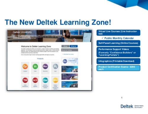 Deltek University Transforms its Training Solutions with the Launch of Deltek Learning Zone