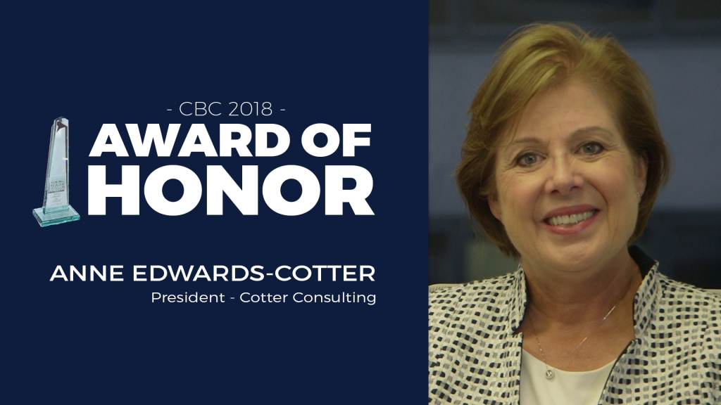 Award of Honor - Anne Edwards - Cotter